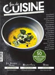 abonnement magazine de cuisine la cuisine