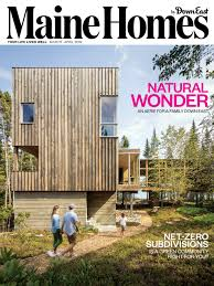 100 Houses Magazine Online Maine Homes By Down East MarchApril 2019