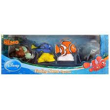 amazon com finding nemo 4 piece figure set standard toys games