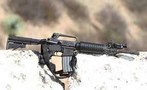 SOLD Mossie Tactics Midnight Mount for AR15 weapon lights $50