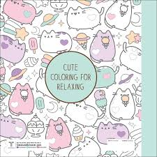 Pusheen Coloring Book 9781501164767 Hr Back