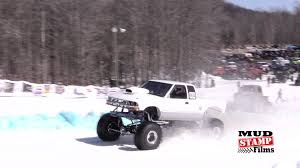 100 Trucks In Snow The Griztek Challenge Is The Greatest Truck Race The