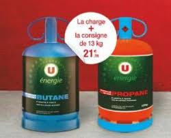 bouteille de gaz consigne bouteille de gaz butane ou propane 13kg charge consigne