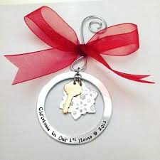 Personalized Home Ornament In Our Housewarming Gift Ideas First New Christmas