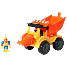 100 Dino Trucks Construction CompanyRocko The Styracosaurus Dump Truck