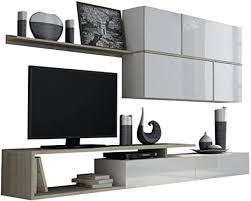 wohnwand goya tv lowboard hängeschrank wandregal design