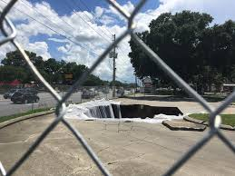 Sinkholes Alachua County Fl by City To Checkers Hire An Engineer To Examine Sinkhole News