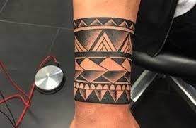 Tribal Armband Tattoo For Men