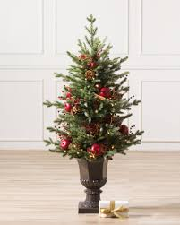 Potted Christmas Trees For Sale by Heritage Spice Potted Christmas Tree From Balsam Hill