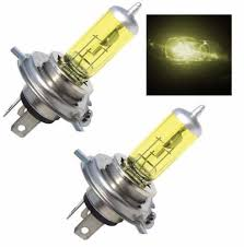 2500k yellow xenon halogen light bulbs set 2 bulbs dreamtrade