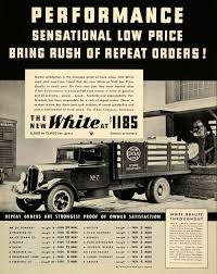 100 Delivery Trucks 1934 Ad White New York Central Lines ORIGINAL