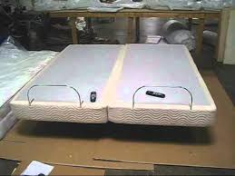 Sleep Comfort Adjustable Bed by Split Top Mattress And Adjustable Assembly Youtube
