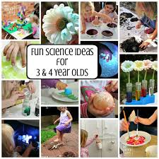 Fun 3 4 Year Old Science Activities
