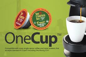 Find San Francisco Bay Coffee OneCups For Your KeurigR