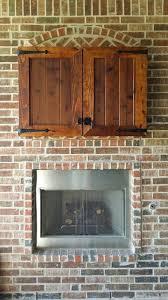 Cedar Outdoor TV Cabinets Home Pinterest