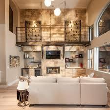 75 wohnzimmer mit hausbar und allen fassadenmaterialien