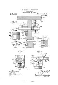 Theo A Kochs Barber Chair Footrest by Patent Us947380 Barber U0027s Chair Google Patents