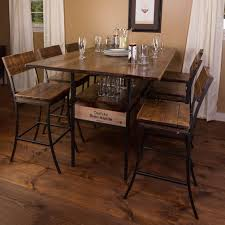 7 Piece Dining Room Set Walmart by Furniture Magnificent 7 Piece Dining Set 3 Piece Pub Table Set