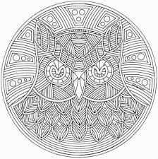 Free Printable Abstract Coloring Pages For Adults Mandala