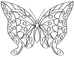 Butterfly Coloring Pages Free Of Butterflies E Swallowtail Printable Page Pertaini