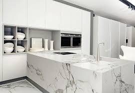 trendtipp keramik ganz groß weißer marmor küche