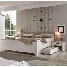 schlafzimmer kombi ferna 61 in pinie weiß nb mit pinie dunkel nb im landhaus design b h t ca 331 86 208 cm
