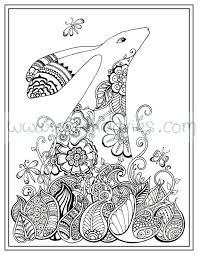 Adult Colouring Book Zen Henna Hand Drawn Art Therapy Beautiful Coloring In Garden Zentandle Mandala