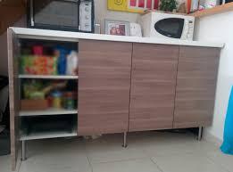 meuble de cuisine avec plan de travail pas cher meuble de cuisine plan de travail