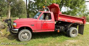 100 F350 Ford Trucks For Sale 1997 Super Duty XL Dump Bed Pickup Truck Item DC