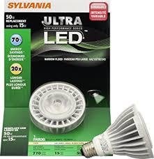 sylvania 78494 13 watt ultra led par30ln dimmable neck