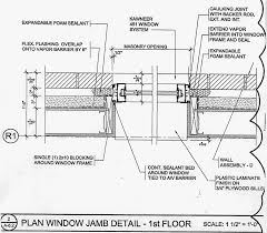 Kawneer Curtain Wall Cad Details by Window Jamb Detail Drawing Construction Drawing Pinterest