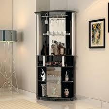 Home Bar Furniture Corner Wine Buffet Cabinet Living Room Storage Glass Display Kitchen