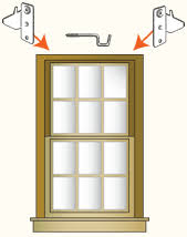 kirsch curtain rods are an easy type of drapery hardware to install