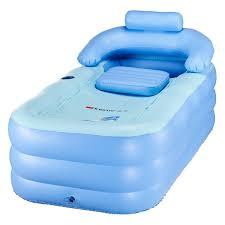 amazon com co z pvc portable folding inflatable bath tub
