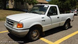 1996 Ford Ranger XL Pickup Truck | Item DE1852 | SOLD! Augus...