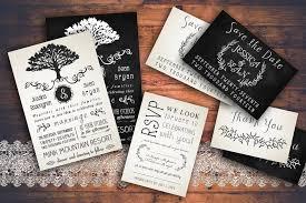 Rustic Wedding Invitation Pack Templates Creative Market