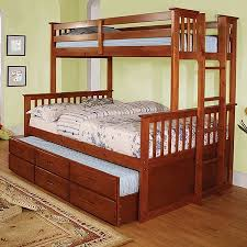OF AMERICA UNIVERSITY TWIN FULL BUNK BED TRUNDLE SOLD SEPARATELY