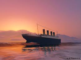 Sinking Ship Simulator Titanic Download by Titanic Low Quality Gta5 Mods Com