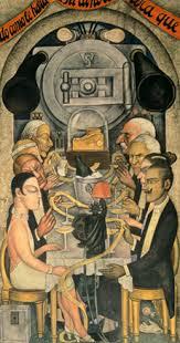Diego Rivera Rockefeller Mural by Frozen Assets In Hotspots Murals For The Museum Of Modern Art