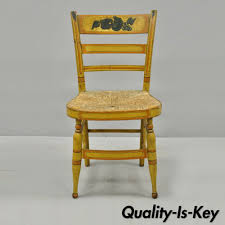 Early 19th C Bentwood Slat Back Rush Seat Yellow Paint Stenciled ... Antique Hickory Oak Bentwood Rocking Chair Ardesh Ruby Lane Thonet Chairs For Sale Home Design Heritage Ding 19th Century Bentwood Rocking Chair Childs Cane Late In Beech By Maison Benches Wikipedia Vintage No 1 Children39s From Kelly Green Voting Box 10 Best 2019 Shop Intertional Caravan Valencia Gebruder Number 7025 Michael Thonet Mid Century On Metal Frame Australia C Perfect Inspiration About Senja