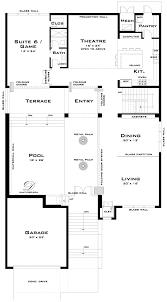 100 Modern Beach House Floor Plans Limestone Plan Contemporary House Plans Pool House