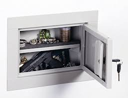 Sentinel Gun Cabinet Lock by Amazon Com Stack On Iwc 11 In Wall Pistol Cabinet Home Improvement
