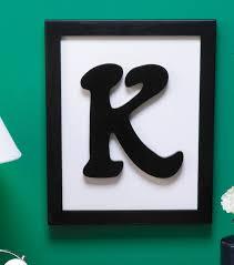Best 25 Framed monogram letters ideas on Pinterest