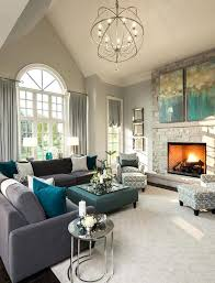 Narrow Living Room Layout With Fireplace by Gray Living Rooms Room Layouts Fireplace Layout Arrangement Ideas