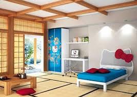Hello Kitty Themes Kids Bedroom Japanese Designs Style Room Decoration Ideas