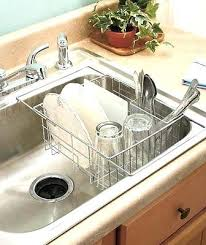 Kitchen Drying Rack Chrome Expandable Sink Dish Drying Drainer