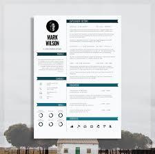 Modern Resume Template | Modern CV Template | Modern CV Design + Cover  Letter For MS Word | Instant Digital Download |