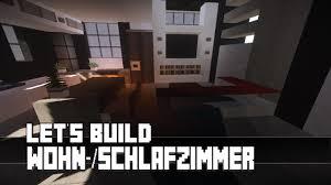 minecraft möbel tutorial modernes wohn schlafzimmer