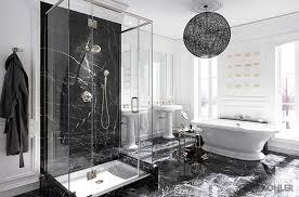master bathroom with wainscoting handheld shower head zillow