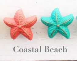 White Starfish Cabinet Knobs by Starfish Knobs Nautical Beach Decor Cabinet Knobs Drawer